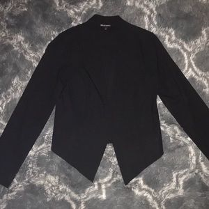 Black asymmetrical blazer ✨🖤